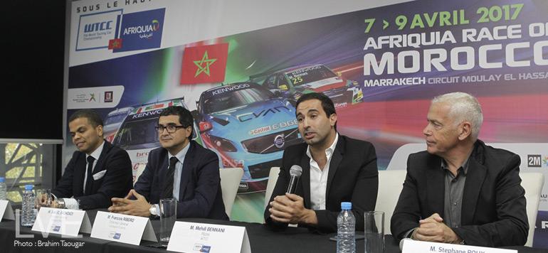 En vidéo : Marrakech accueille la première étape du championnat du monde de la FIA WTCC