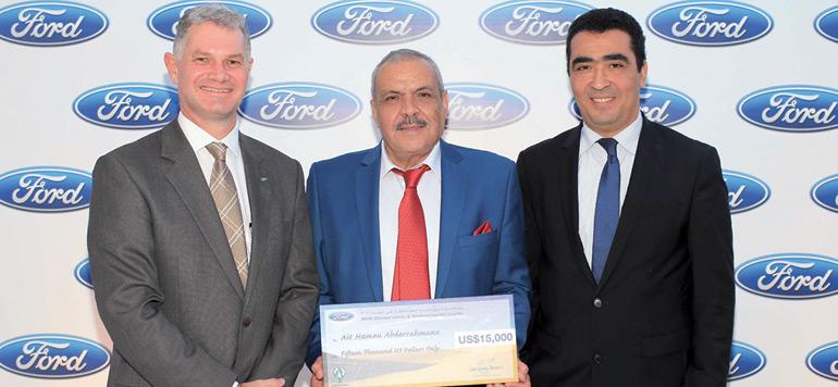 Ford s'engage à poursuivre ses actions citoyennes en faveur des communautés locales