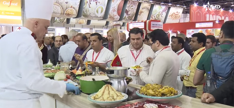 Vidéo : Gros succès de la cuisine marocaine au salon de Dubaï