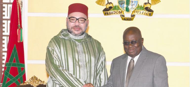 Habib El Malki représente le Roi au 60è anniversaire de l'indépendance du Ghana