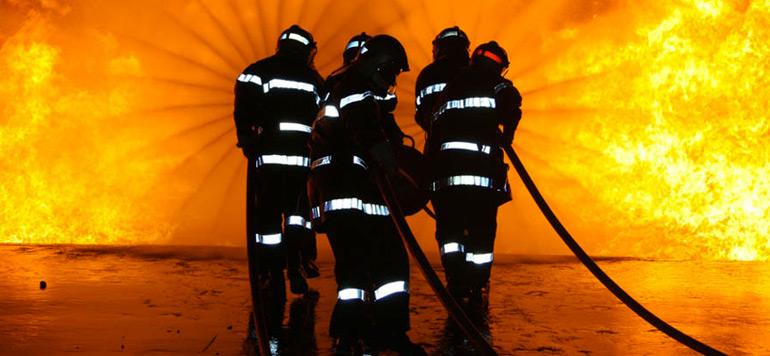 Incendie de l'entrepôt de bois à Salé : Un élément de la protection civile tué