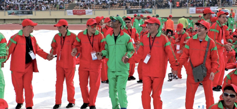 Le Maroc aux Special Olympics