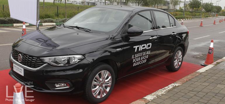 Nouvelle Fiat Tipo : Un compromis réussi entre design  et fonctionnalité