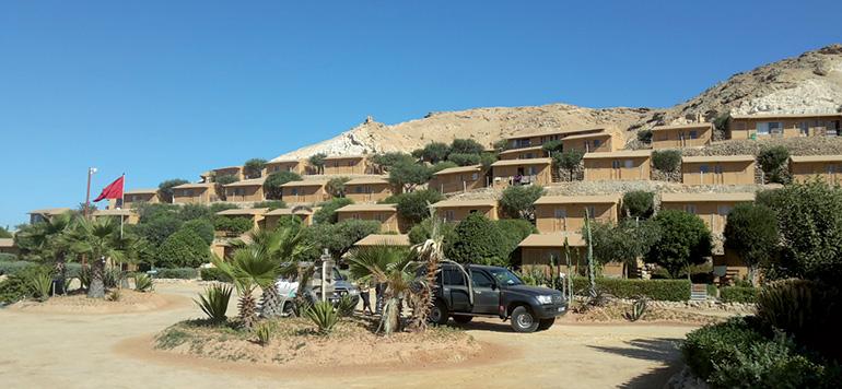 Hébergement: Une dizaine d'hôtels clubs en projet au bout  de la lagune de Dakhla