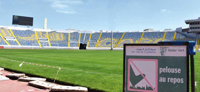Les travaux de réhabilitation du stade Mohammed V se poursuivent malgré les critiques