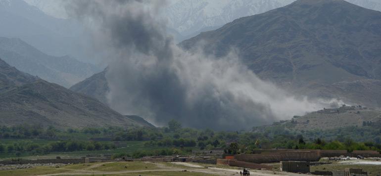 Afghanistan: la méga bombe américaine a tué 36 combattants de l'EI