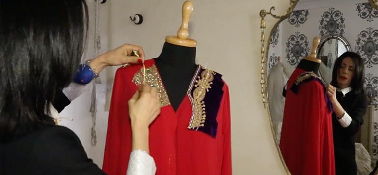 Pour la styliste Amal Blacaid, le charme de Caftan reste à part
