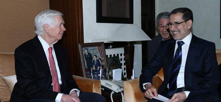 El Othmani s'entretient avec le sénateur américain William Thad Cochran