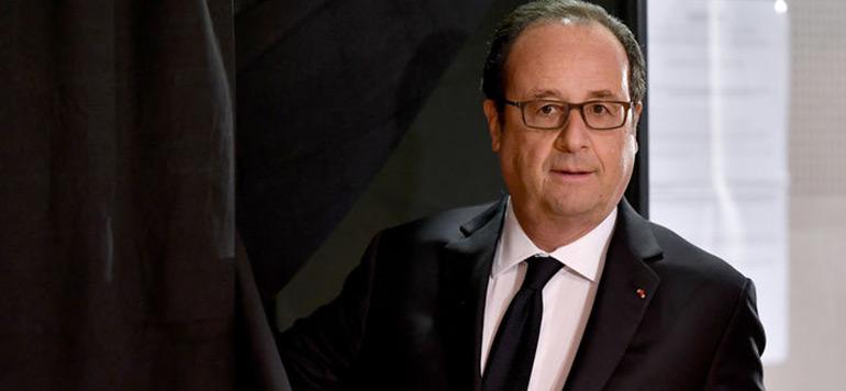 Présidentielle en France : François Hollande votera pour Emmanuel Macron
