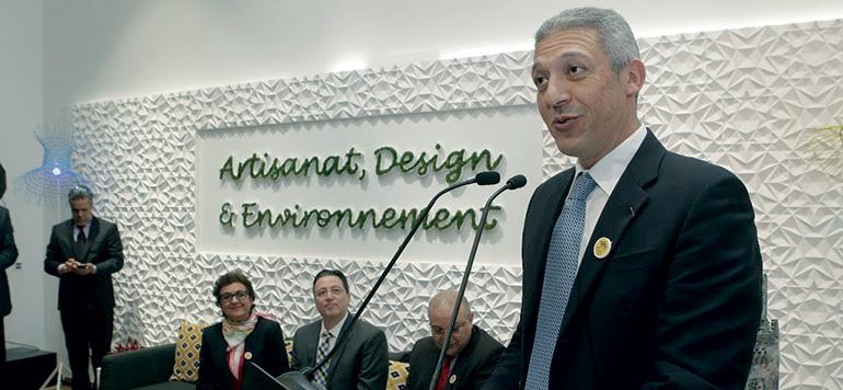 Le ministère de l'artisanat et le Groupe Holmarcom s'allient avec une université américaine de design