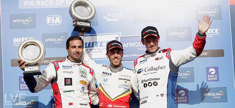 WTCC: Mehdi Bennani troisième à la première étape du championnat du monde FIA