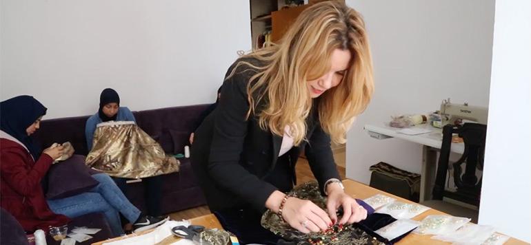 Mounia Amouri : «La mode, un vecteur culturel pour apaiser les conflits»