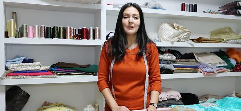 Caftan interview avec la styliste Nadia Boutaleb