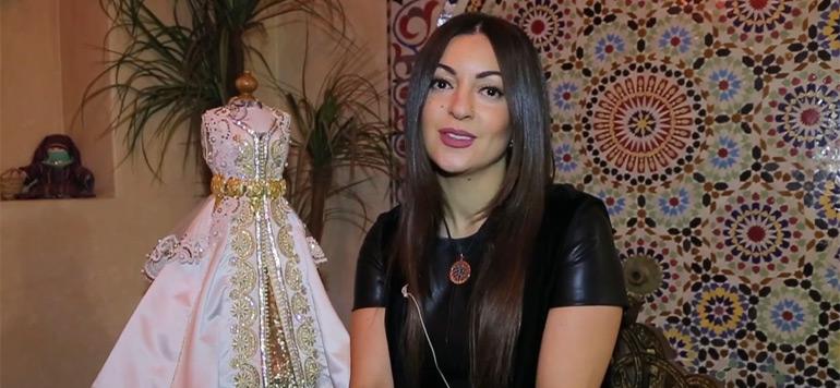 Salima Boussouni : Une collection Caftan en hommage à Lady Diana