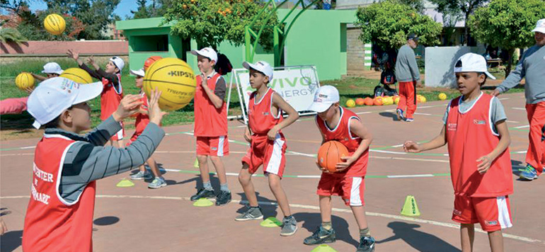 Vivo Energy Maroc et Tibu Maroc inaugurent un centre sportif à Mohammédia