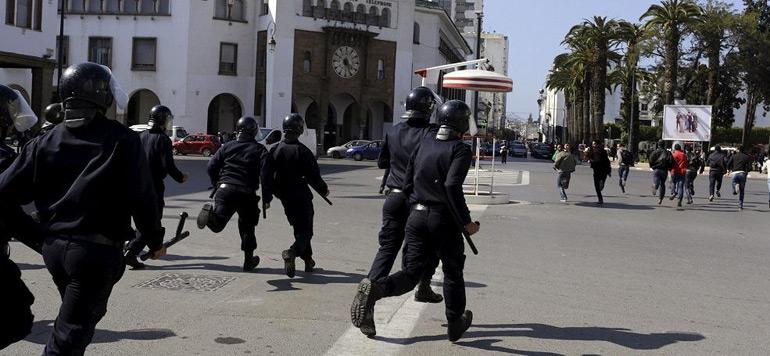 Vidéo : Violents affrontements entre policiers et les étudiants à Fès