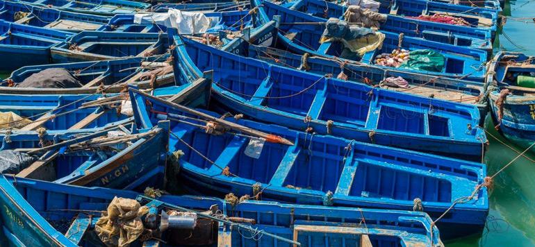 Dakhla: Démantèlement par la Gendarmerie d'un chantier clandestin de fabrication de barques