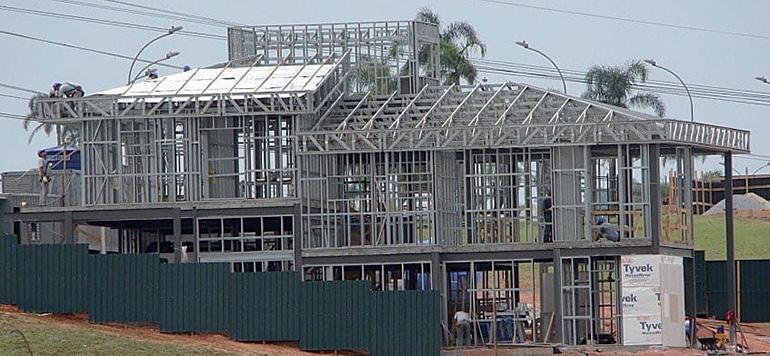La construction métallique s'étend au marché  du résidentiel
