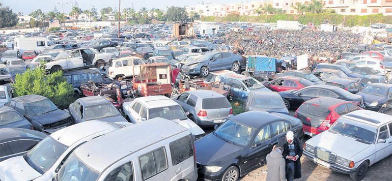 Casablanca va réorganiser le processus de mise  en fourrière des véhicules