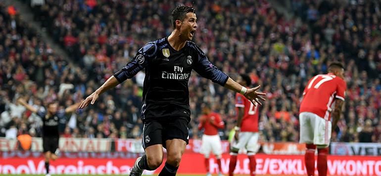Ligue des Champions : le Real bat le Bayern grâce à un doublé de Ronaldo (Vidéo)