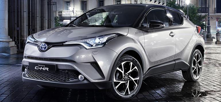 Lancement Toyota compte vulgariser l'hybride à travers son nouveau C – H R