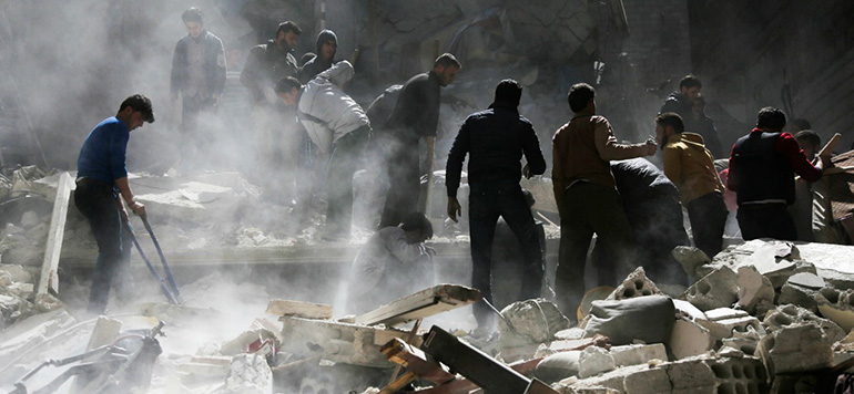Pour Berlin, les frappes américaines en Syrie sont «compréhensibles»