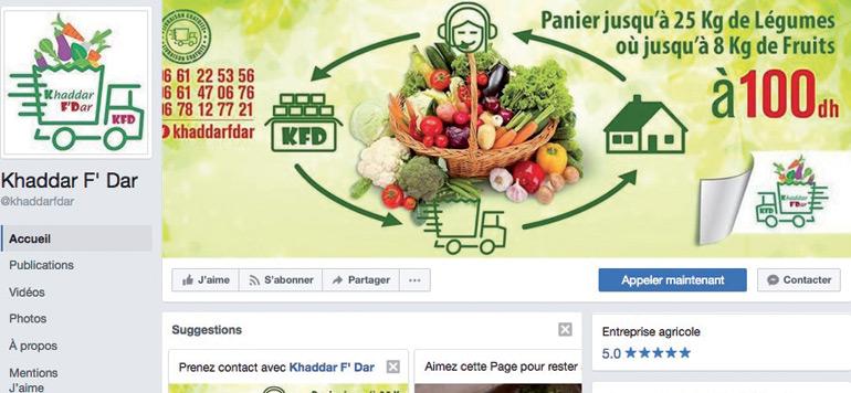 La vente de produits frais en ligne monte en puissance