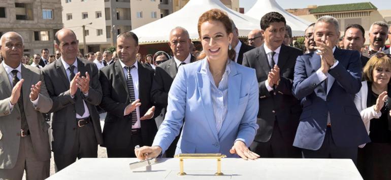 La Princesse Lalla Salma pose la première pierre du centre régional d'oncologie d'Oujda