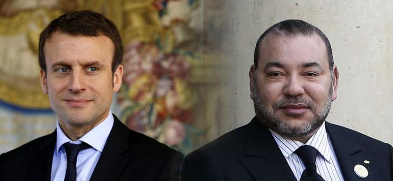 Entretien téléphonique entre le Roi Mohammed VI et Emmanuel Macron