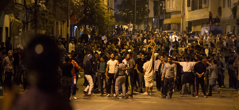 Al Hoceima : 97 individus en détention préventive