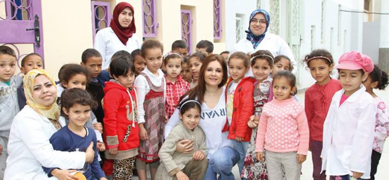 Préscolaire : l'association Oum El Ghait s'active à Sidi Moumen et Sidi Bernoussi