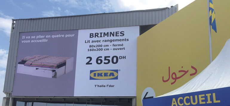 Ikea tisse sa toile en toute discrétion