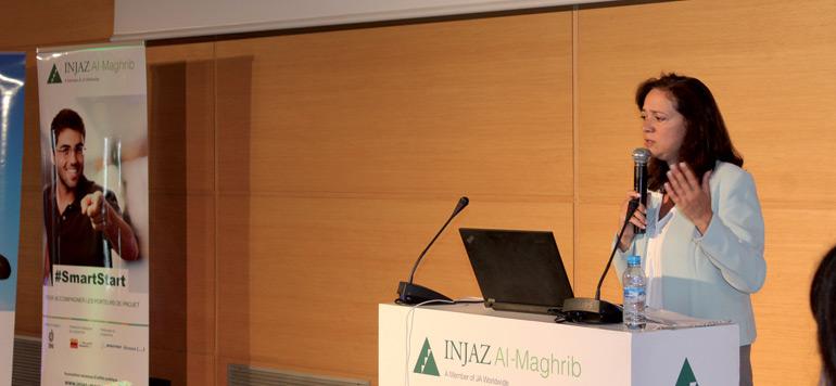 Injaz Al-Maghrib présente une vingtaine de startuppeurs à ses partenaires