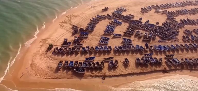 l'incroyable vidéo de Yann Arthus-Bertrand du «Maroc vu du ciel»