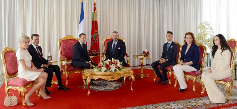 Macron confirme l'exemplarité des relations Maroc-France