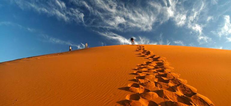 Le sable de Merzouga au cœur d'une exposition scientifique à Sao Paulo