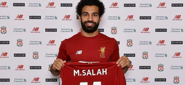 Football : Transfert record pour l'Egyptien Mohamed Salah à Liverpool