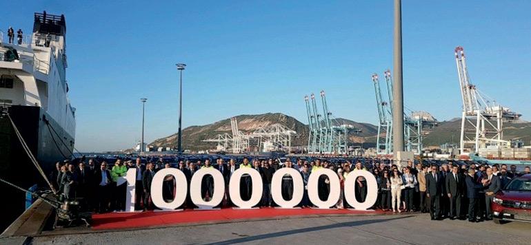 Renault fête son millionième véhicule produit au Maroc