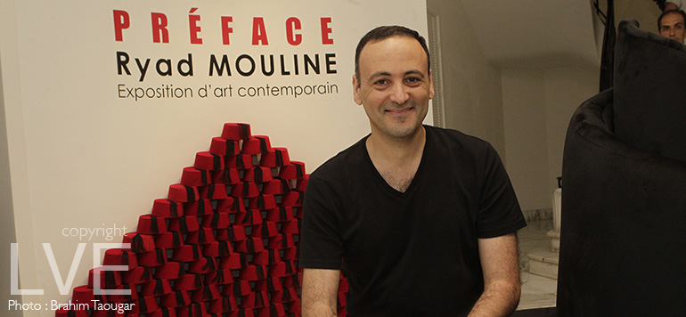 Casablanca : Vernissage de l'exposition d'art contemporain « Préface » de Ryad Mouline