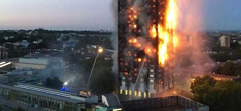 Plusieurs morts dans un incendie à Londres