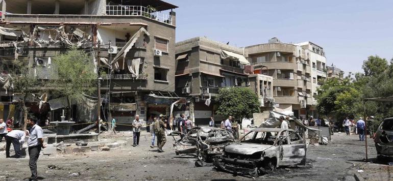 Damas : Au moins 18 morts dans un attentat suicide
