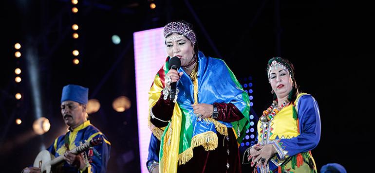 L'icône de la musique Amazighe Raissa Fatima Tbaamrant sublime le public de Timitar