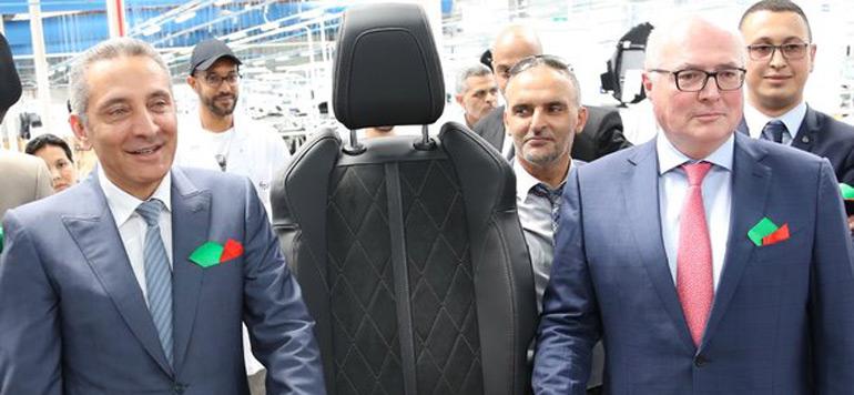 Faurecia ouvre une deuxième usine au Maroc