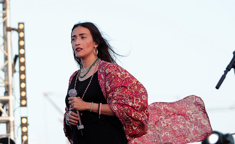 L'artiste marocaine Hindi Zahra hospitalisée à Bruxelles