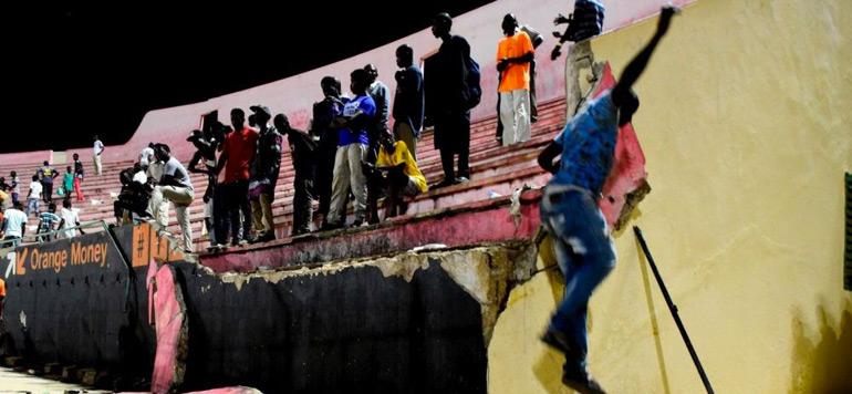 Sénégal : huit morts et plusieurs blessés suite à un mouvement de foule dans un stade de football