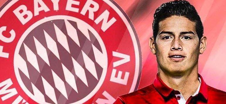 Mercato : James Rodriguez signe au bayern Munich