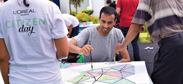 L'Oréal Maroc tend la main aux handicapés