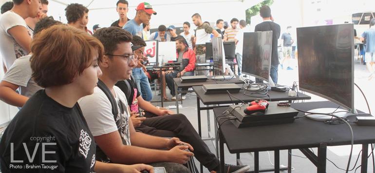 En images : «Gaming Zone by NRJ», le premier village dédié au gaming au Maroc
