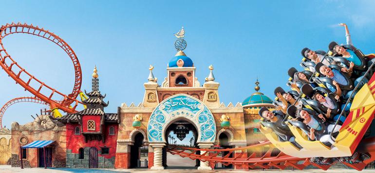 Une nouvelle attraction au parc Sindibad