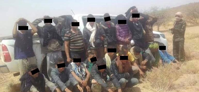 Le Polisario annonce l'arrestation de 19 trafiquants de drogue marocains